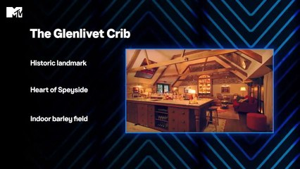 Iain Stirling's Dream Crib The Glenlivet Distillery MTV Cribs MTV UK