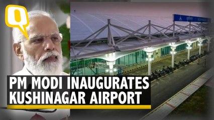 Over 100 Buddhist Monks Attend Inaugration of Kushinagar Airport by PM Modi