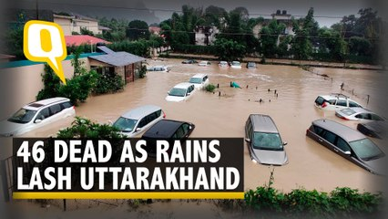 Uttarakhand Floods   Heavy Rains Batter Uttarakhand, Rescue Operations Underway