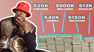 How Israel Adesanya Spent His First $1M in the UFC | My First Million
