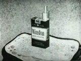 Commercial - Winston Cigarettes w Fred Flintstone 1962 (A di