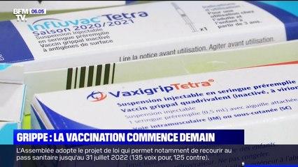 La vaccination contre la grippe commence ce vendredi