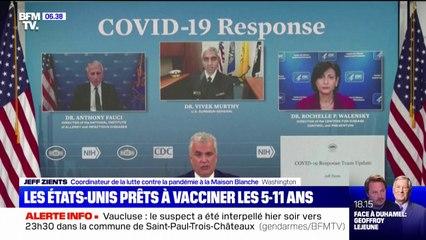 Covid-19: les États-Unis prêts à vacciner les 5-11 ans