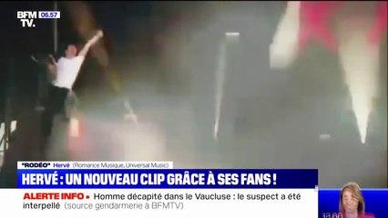 """Le chanteur Hervé est de retour avec un nouveau clip, """"Rodéo"""""""