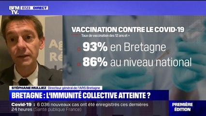 """Covid-19: le directeur général de l'ARS Bretagne salue """"un bel élan de vaccination"""" dans la région"""