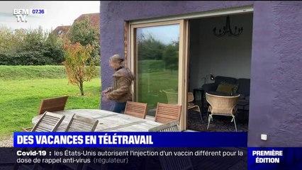 Le télétravail favorise les départs en vacances à la Toussaint