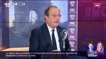 François Hollande préconise une hausse des salaires et le versement de chèques ciblés pour lutter contre l'inflation