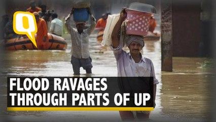 Uttar Pradesh Floods: Houses Submerged, Crops Spoilt, Lives on Hold