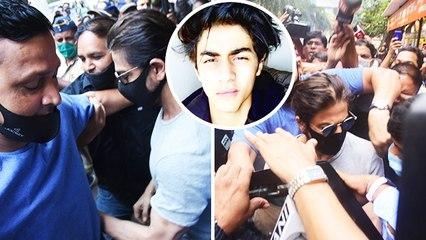 Shahrukh Khan Meets Son Aryan Khan In Jail For The First Time