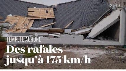 Aurore, première tempête automnale, souffle violemment sur le nord de la France
