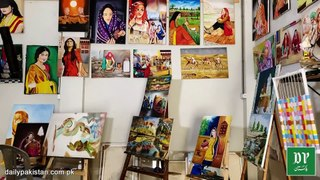 Central Jail Karachi k qaidiyon ne Jail ki diwaron ko khoobsurat tasveeron se bhar diya
