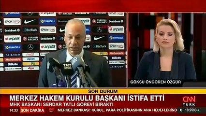 Son dakika... MHK Başkanı Serdar Tatlı istifa etti