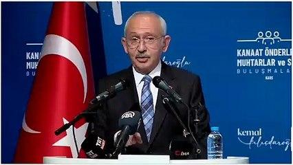 Kılıçdaroğlu'ndan bürokratlara: Düsturunuz milletimizin refahı olsun