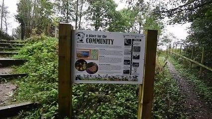 Grimsargh Wetlands eco recycling project
