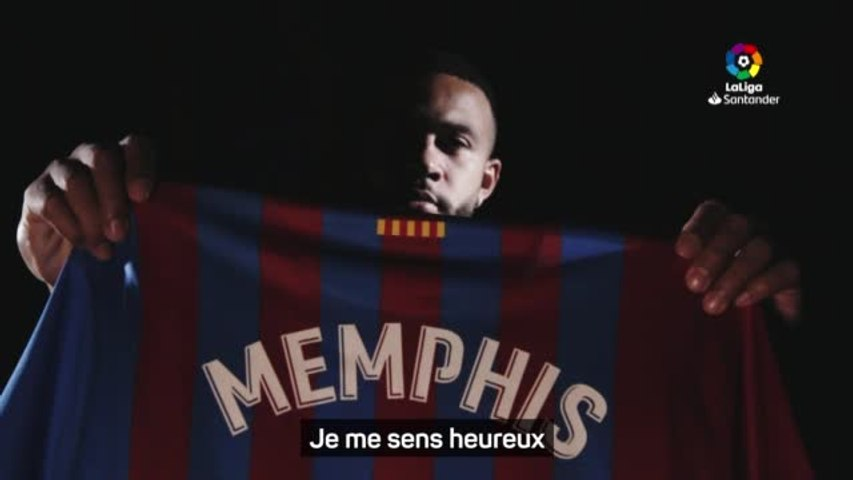 Clasico Barça/Real Madrid : Memphis Depay - 'Je ne ressens pas la pression'