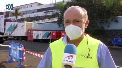 Así se garantiza el suministro eléctrico en La Palma pese a la destrucción del volcán