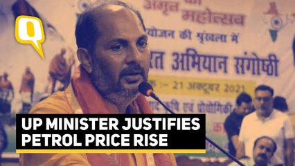 Petrol Price Rise   '95 Percent People Don't Need Petrol': UP Minister