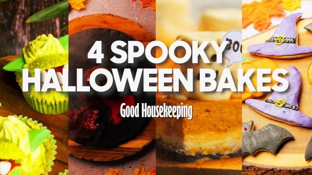 4 Spooky Halloween Bakes