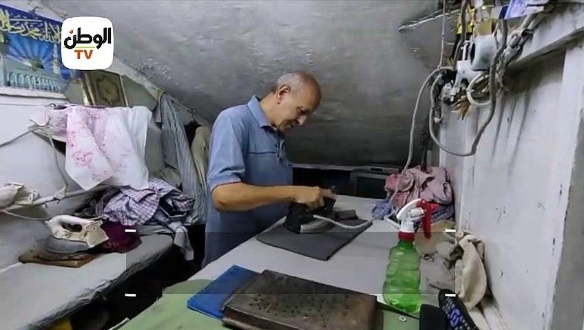 50 سنة في الشغلانة.. «المالكي»  أقدم مكوجي في طنطا: أجري كان 5 صاغ