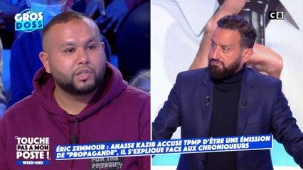 """""""TPMP est une émission de propagande pour Eric Zemmour"""" : Anasse Kazib revient sur ses propos"""