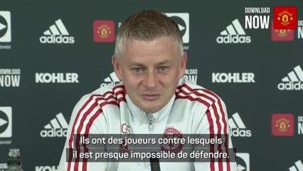 """9e j. - Solskjær : """"Presque impossible de défendre contre Liverpool"""""""