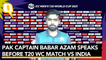 Babar Azam Announces Pakistan's Shortlisted 12-Man Squad Ahead of India Match