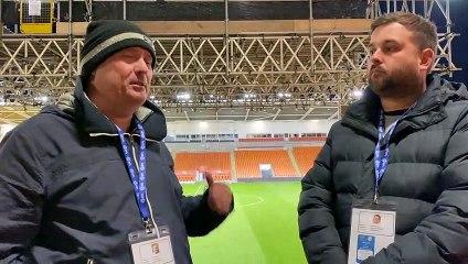 Dave Seddon and Matt Scrafton discuss Saturday's derby day