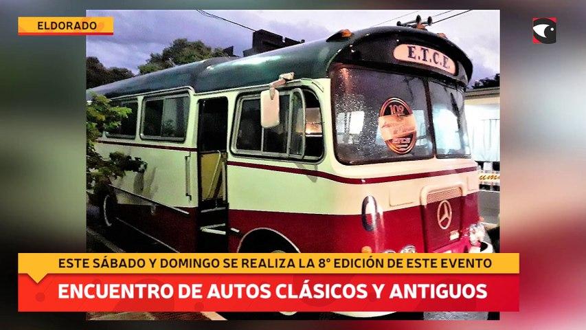 Encuentro de autos clásicos y antiguos