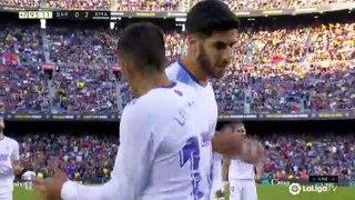 Lucas Vazquez Goal - Barcelona vs Real Madrid 0-2 24/10/2021