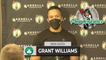 """Grant Williams: """"We Got Punked Last Game...We Just Wanted To Play & Show Pride.""""   BOS vs HOU 10-24"""