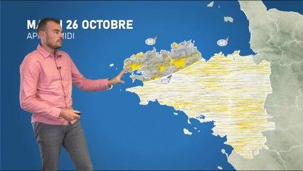 Illustration de l'actualité La météo de votre mardi 26 octobre 2021