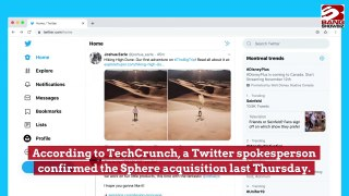 Twitter buys out group chat app Sphere