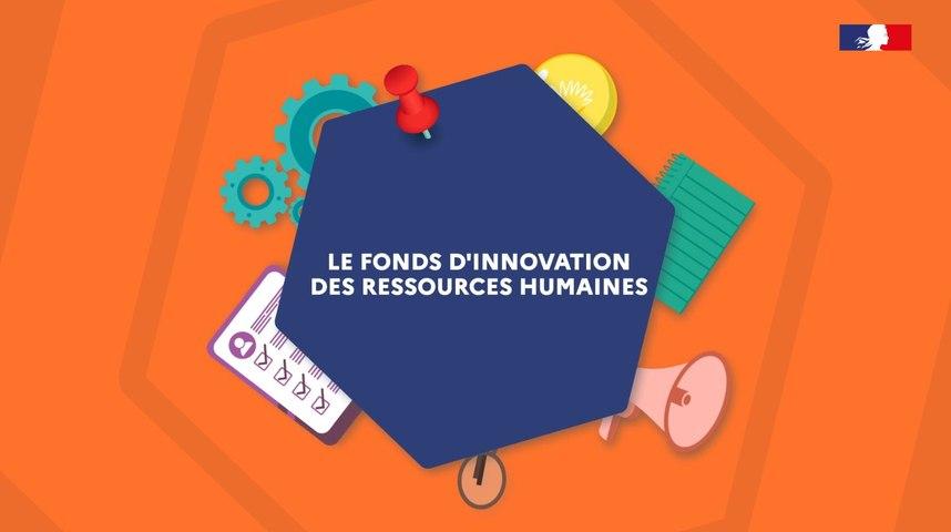 Présentation du fonds d'innovation RH