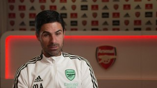 Arteta on how Arsenal senior players are helping his young squad