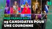 Miss France 2022 se trouve parmi ces 29 candidates, gagnantes dans leurs régions