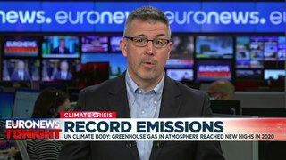 UN report warns of record greenhouse gas concentrations ahead of COP26