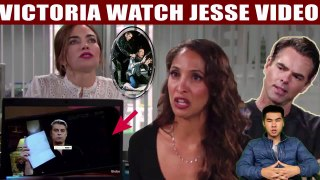Young And The Restless Spoilers Victoria panics after watching Jesse Gaines' Video, wants a divorce