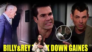 Y&R Spoilers Next Week Billy suspects Ashland's involvement in Gaines' mysterious disappearance
