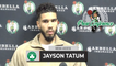"""Jayson Tatum: """"I Pride Myself On Being Able To Do It All On The Court""""   BOS vs CHA Press Conference"""