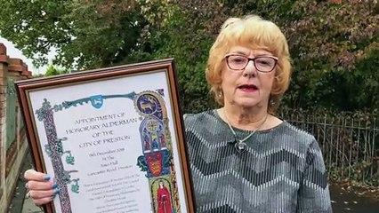 Honorary Alderman Christine Abram