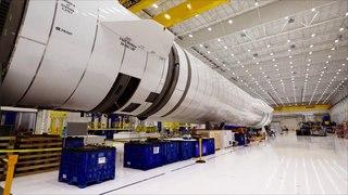 Blue Origin impulsa un parque empresarial en el espacio