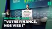"""Des militants écolos perturbent le""""Climate Finance Day"""" après le discours de Bruno Le Maire"""