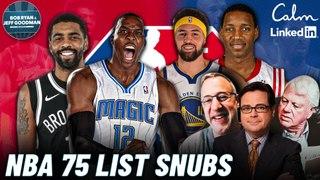 Does Russell Westbrook Fit in LA? + NBA Top 75 List   Bob Ryan & Jeff Goodman Podcast w/ Gary Tanguay