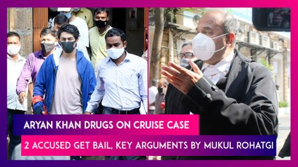 Aryan Khan Drugs On Cruise Case: 2 Accused Get Bail, Key Arguments By Former Attorney General Mukul Rohatgi