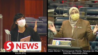 Things get heated in Dewan Rakyat as deputy minister faces MP's tirade over aid for the disabled