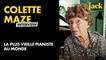 On a rencontré Colette Maze, la plus vieille pianiste au monde