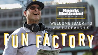 Daily Cover: Welcome (Back) to Jim Harbaugh's Fun Factory
