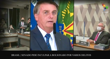Agenda Abierta 27-10: Comisión parlamentaria de Brasil inculpa a Bolsonaro