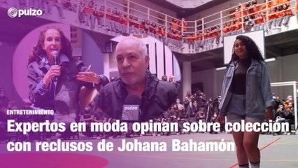 Colección con reclusos de Johana Bahamón, en el ojo de Pilar Castaño y Hernán Zajar   Pulzo