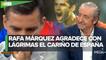 Rafa Márquez rompe en llanto en el Chiringuito_ _Es difícil salir de tu país y que te traten así_